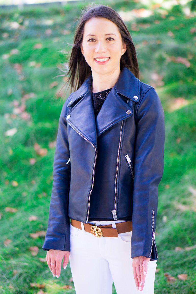 db093921232 J. Crew Leather Jacket Fit Review