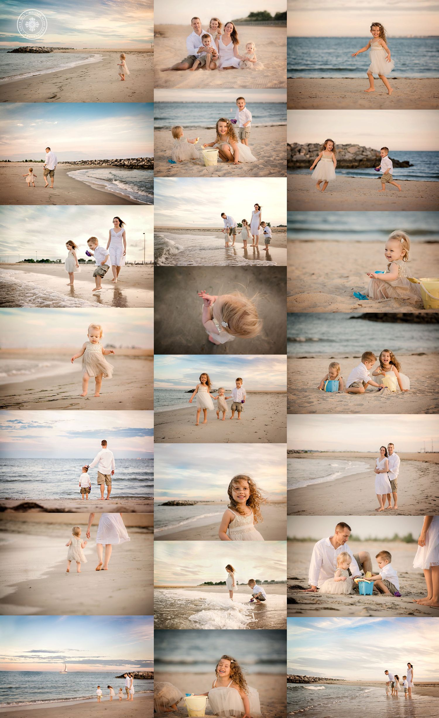 Family Beach Sessions – Portrait Ideas