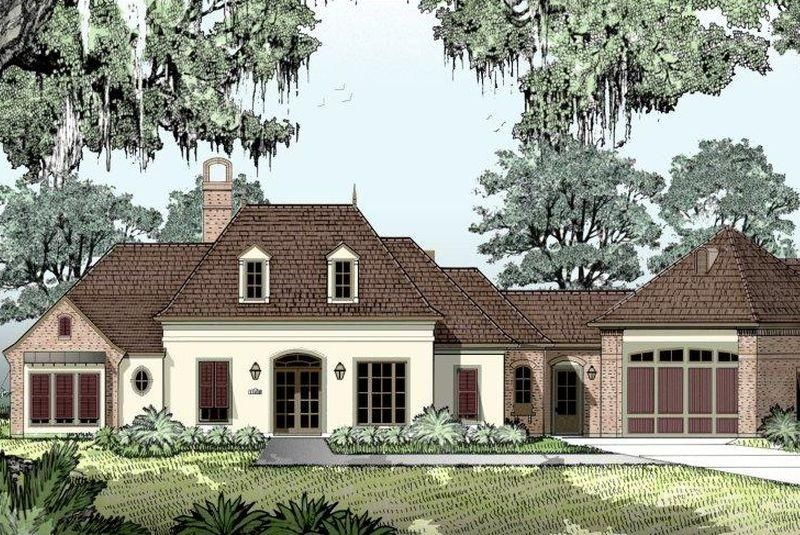 South louisiana house plans plan email us a question for Country french house plans louisiana