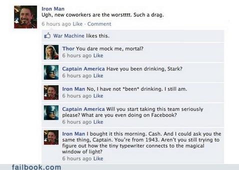 Iron Man is never not drunk