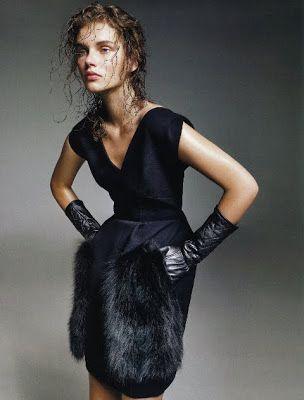WOMEN PARIS BLOG: GIEDRE DUKAUSKAITE for Vogue Portugal by Marcin Tyszka