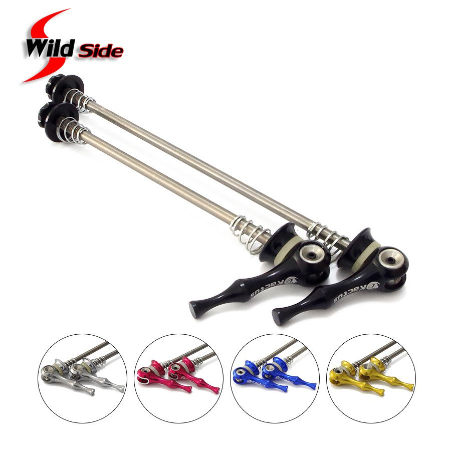 Check Price Ultralight 45gpair Titanium Ti Axis Skewers Qr Mtb