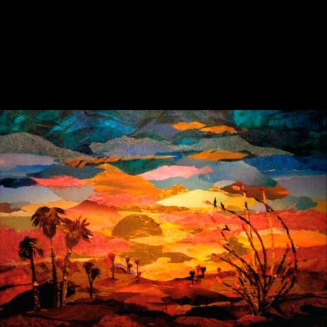 Https Www Google Com Search Q Sunset Collage Painting Art Sunset