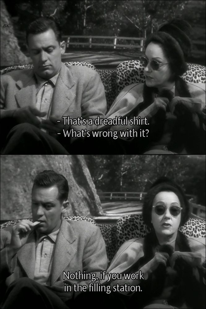 Billy Wilders Sunset Boulevard 1950 As An Unseen Erich Von