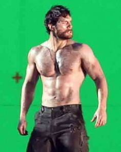 076483c0ab03b5 Henry Cavill Workout for Chest Arms Abs and Shoulders (Superman Workout
