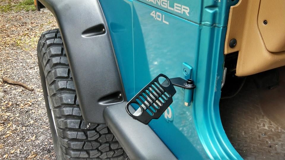 Jeep Tj Foot Pegs Jeep Grill Jeep Tj Jeep