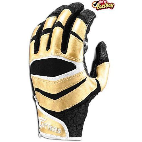 gold football gloves