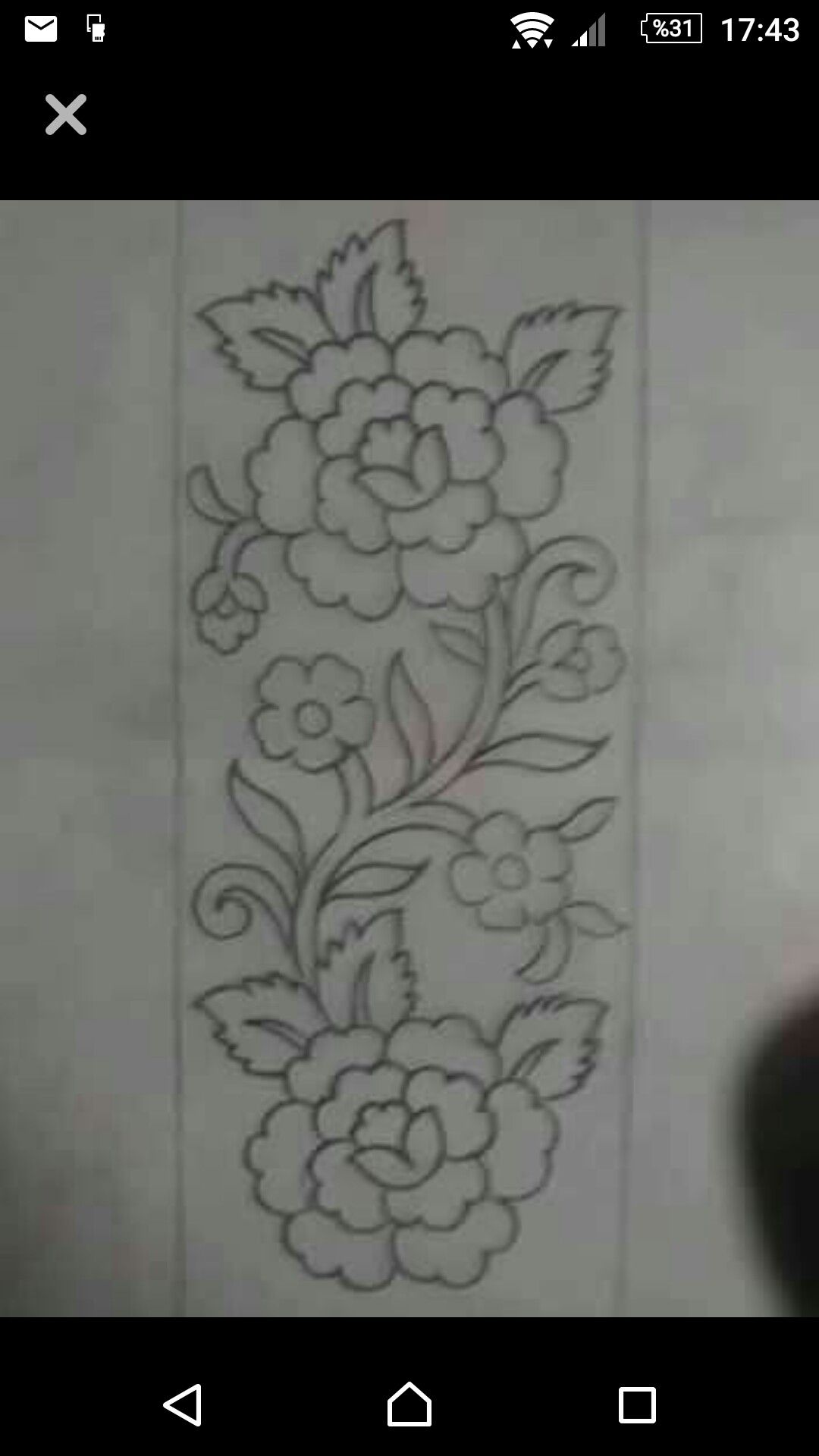 Pin By Maher Meknas On Cizimler Sewing Embroidery Designs Border Embroidery Designs Hand Embroidery Designs