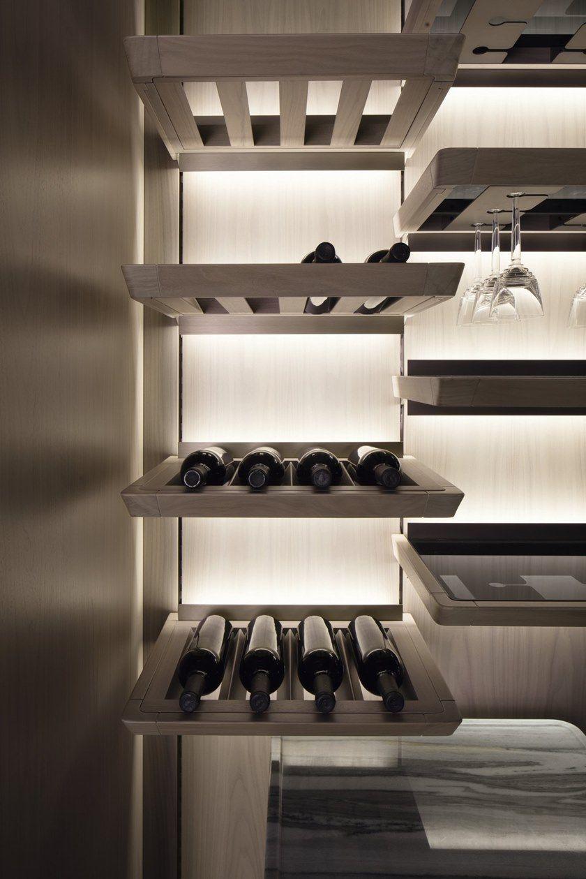 Mensola portabottiglie Kitchen GK.03 Salone