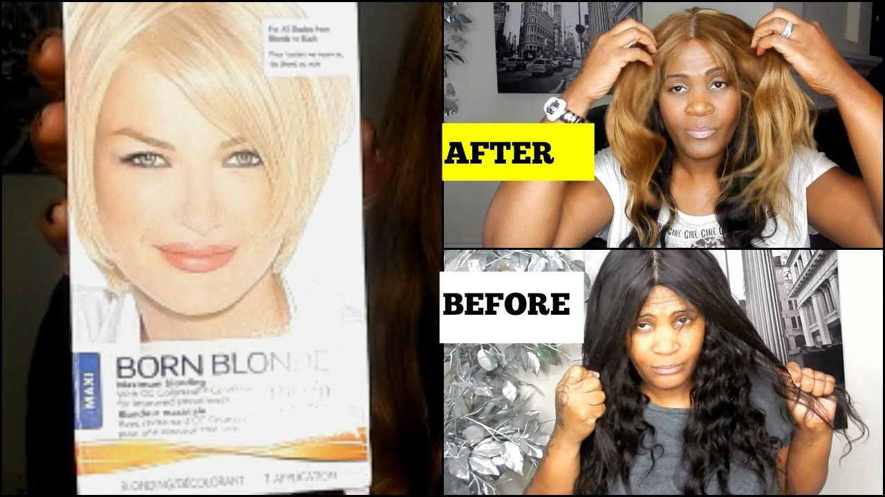 How i color my hair extensions clairol born blonde box color how i color my hair extensions clairol born blonde box color pmusecretfo Images