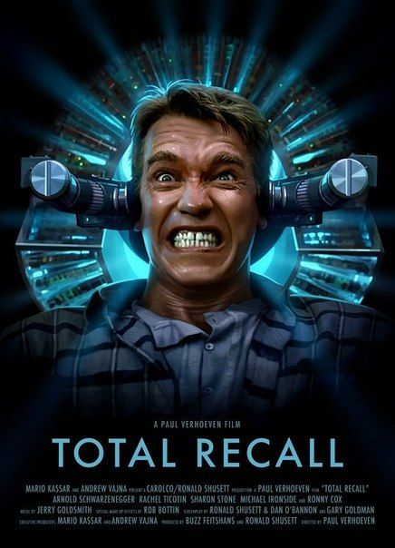 Total Recall 1990 Movie Posters Best Movie Posters Good Movies