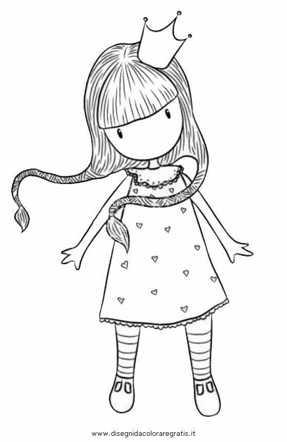 nena #niña #flequillo #trenzas #corona | Gorjuss | Pinterest ...