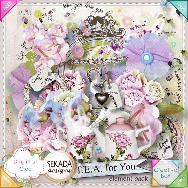 TEA for You TEA for You [sekada_TeaForYou] - €1.20 : 40% OFF !!!