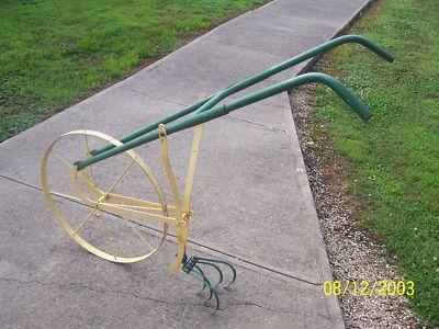Merveilleux High Wheel Garden Cultivator | Antique Metal Farm Garden Cultivator Push  Plow. Almost Like Mine