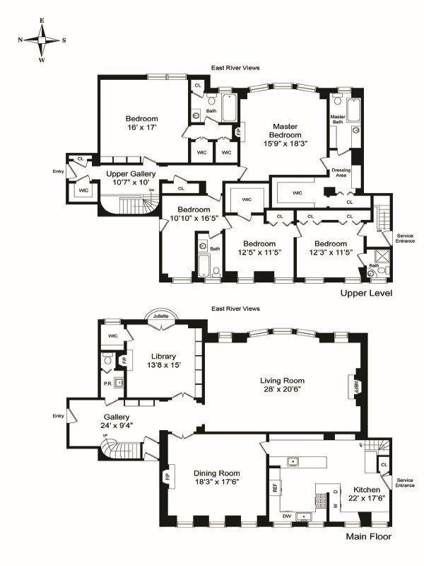 1 East End Ave 6 7b In Yorkville Manhattan Streeteasy Floor Plans Yorkville New York City Apartment