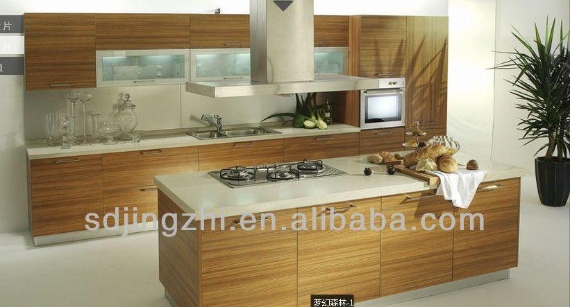 cocinas con islas modernas | Caliente la venta de madera de cocina ...