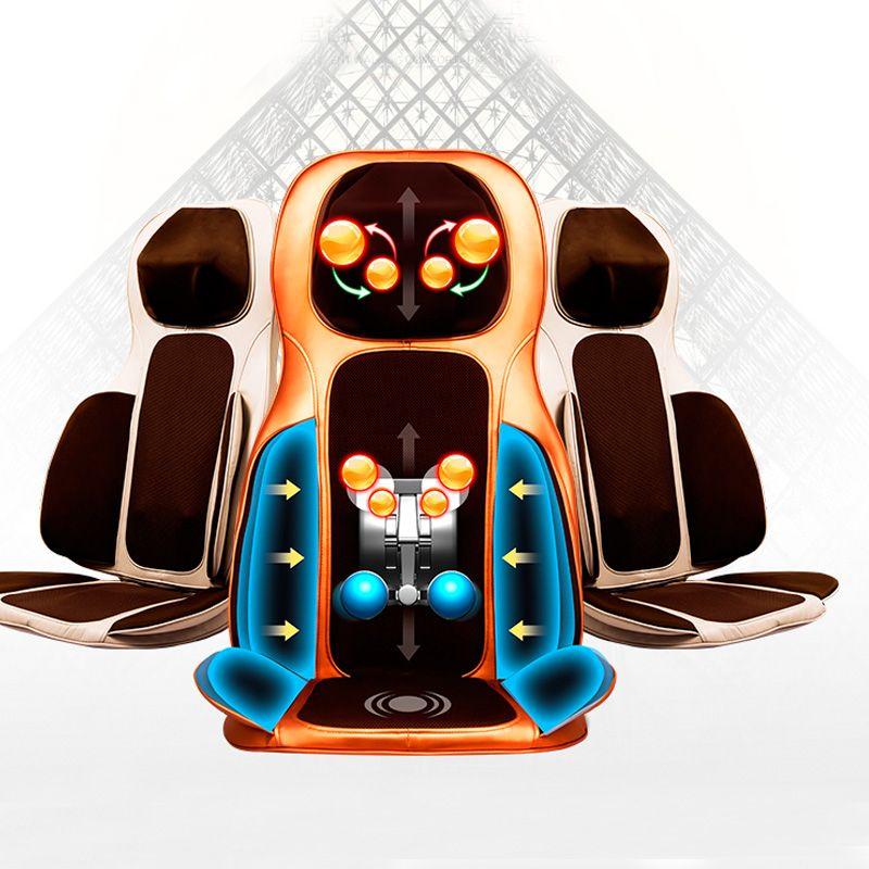 Body massager chair 4d airsac massage chair mat for sale