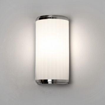 Modische LED Spiegelleuchte Monza in chrom, für das Badezimmer - spiegelschrank badezimmer günstig