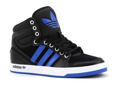 Adidas COURT ATTITUDE zwarte hoge sneakers (met afbeeldingen