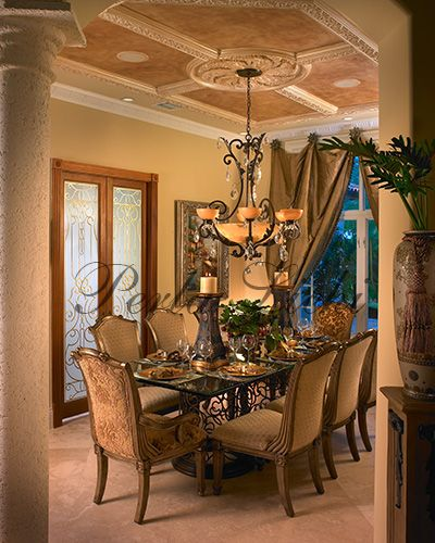 Dining - Curtains And Room Color