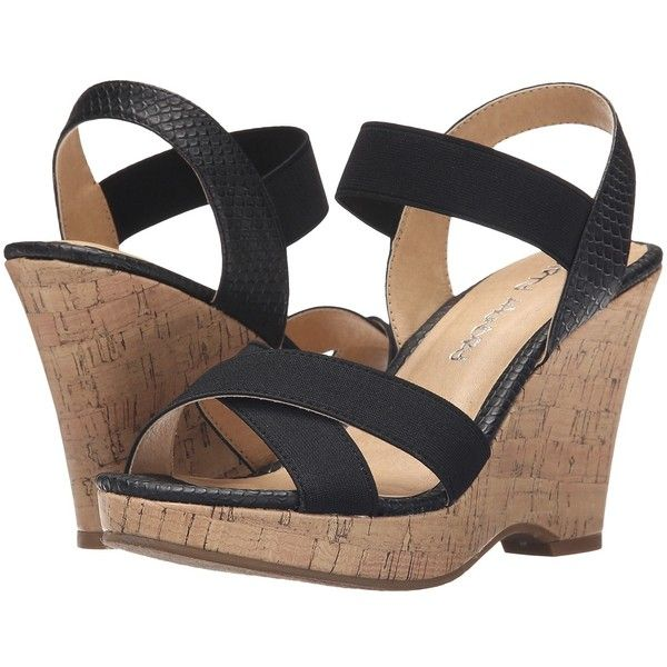 Dirty Laundry DL In the Zone (Black 2) Women's Wedge Shoes ($50)