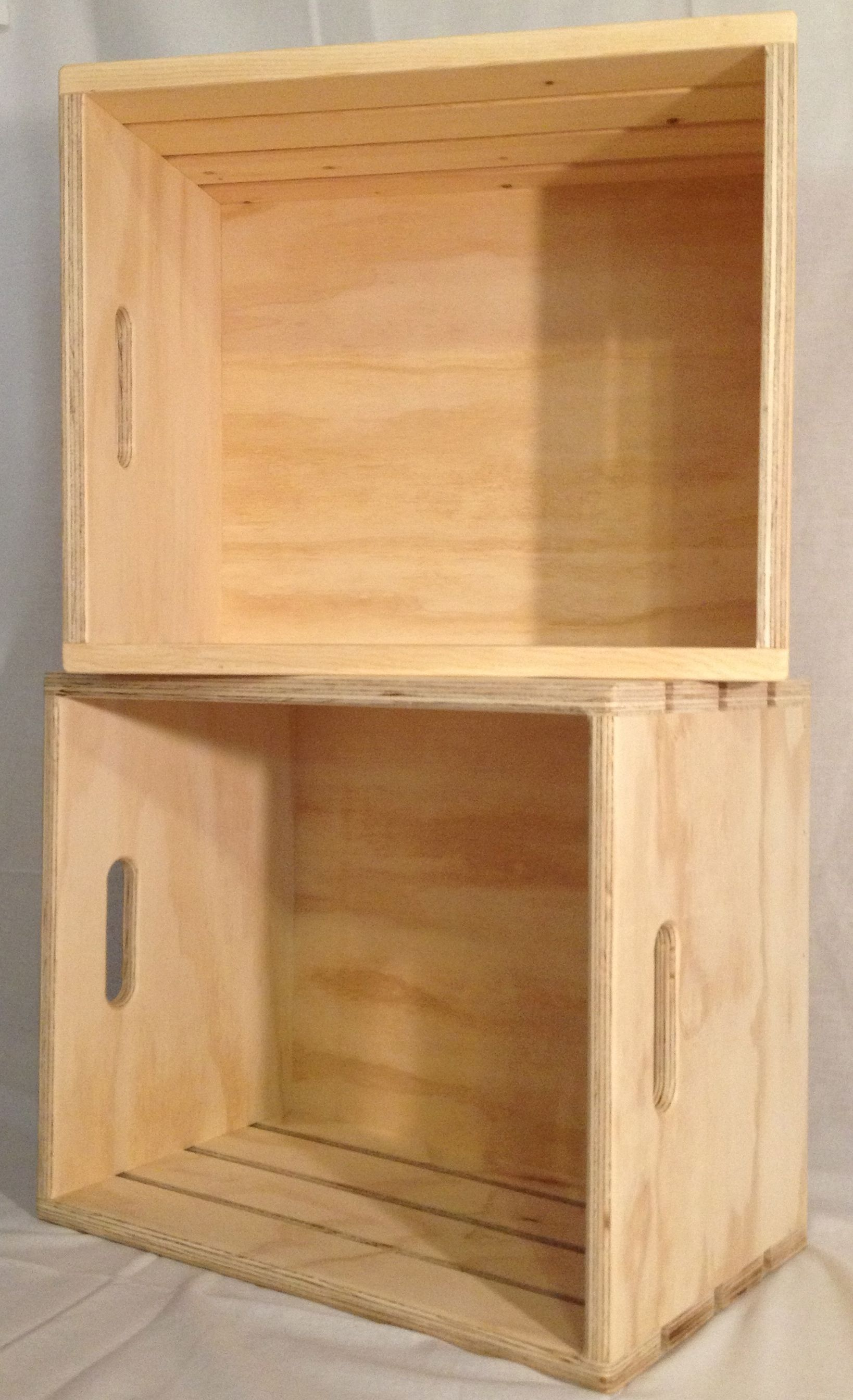 Wood Retail Display Crates, Natural Or Stained Jbrothersandcompanycom