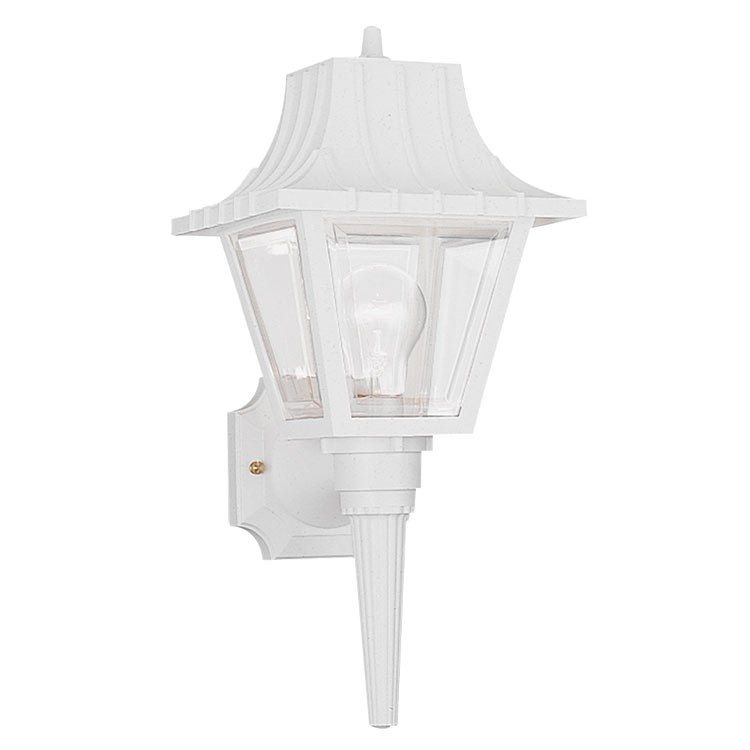 Polycarbonate Outdoor Single Light Outdoor Wall Lantern In 2020 Outdoor Wall Lantern Outdoor Sconces Wall Lantern