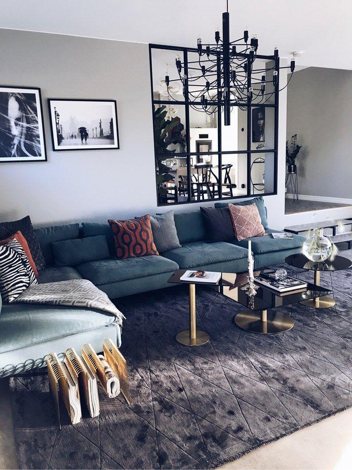 10 interior design ideas to change your home dekorasyon for Hangedekoration wohnzimmer