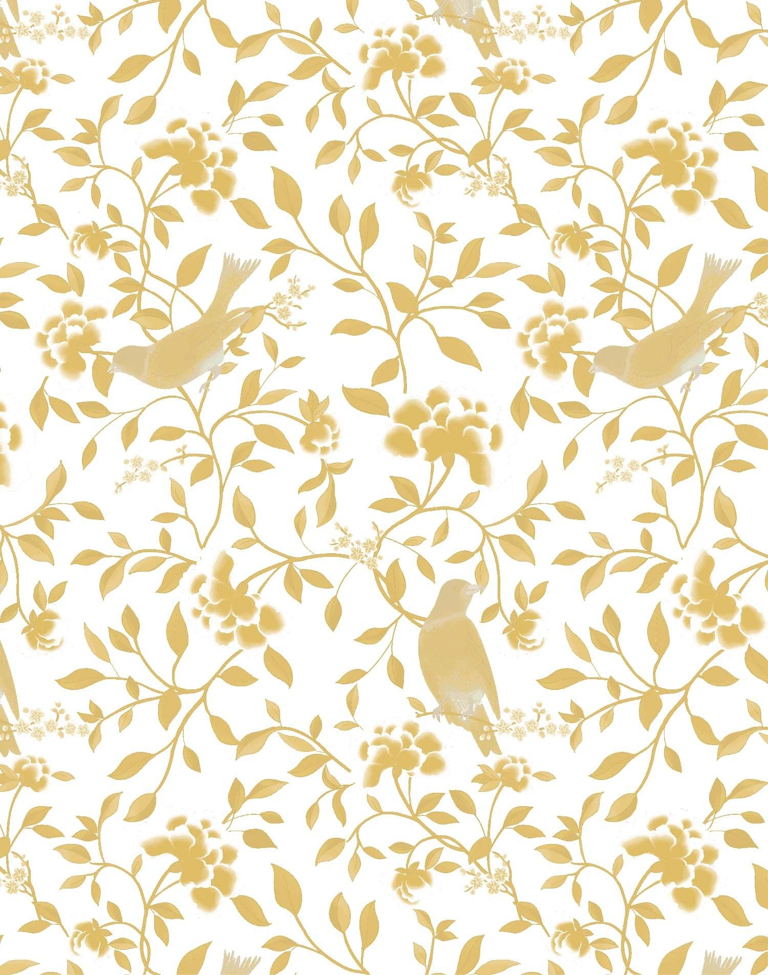 gold chinoiserie fabric Google Search L & J