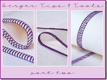 Serger Tips & Tools: Part Two, includes links to guides for purchasing a serger