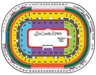 View joe louis arena seating chart map hockey pinterest joe louis