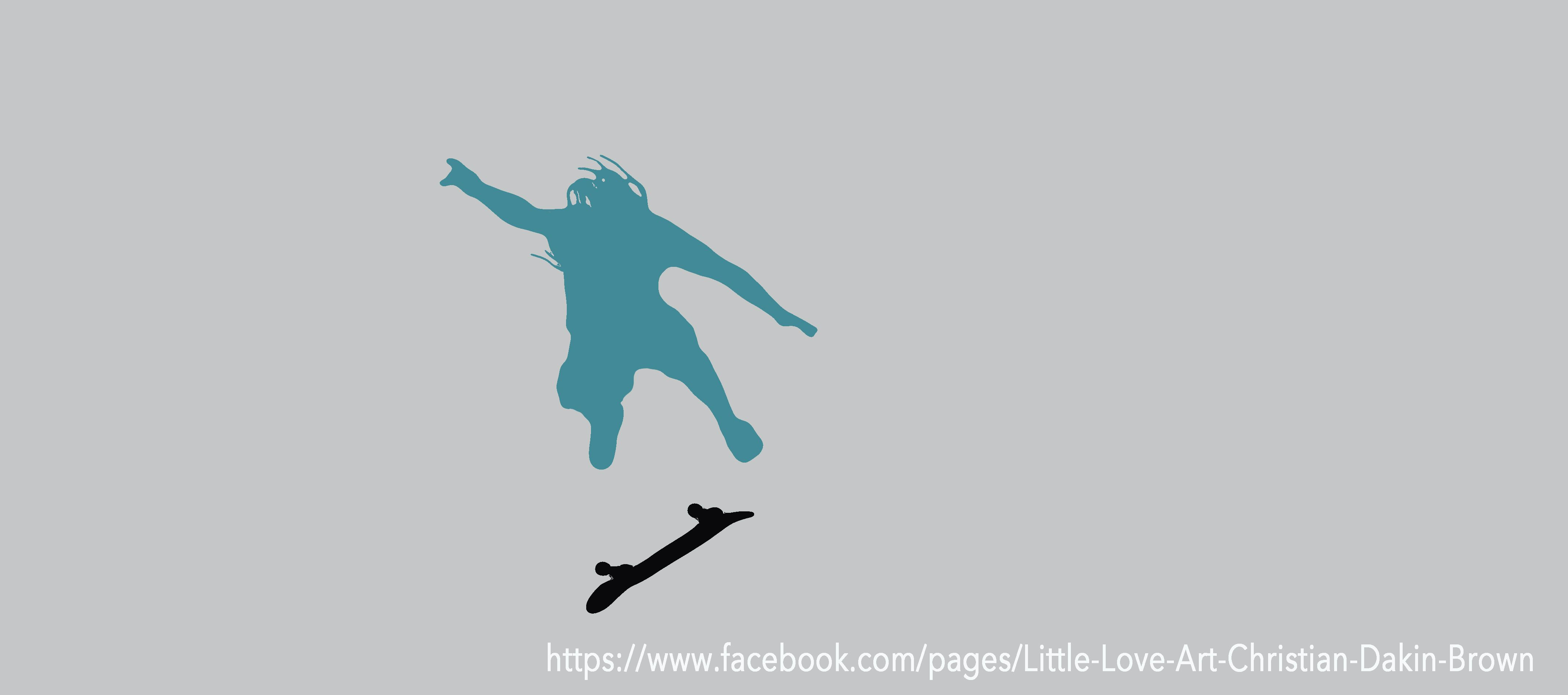 Great Silhouette of my pal skate boarding :)