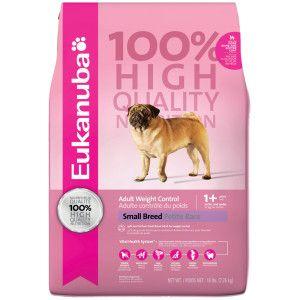 Eukanuba Small Breed Weight Control Adult Dog Food Dry Food