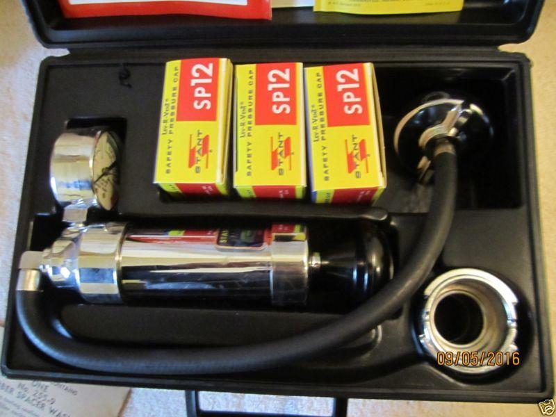 Stant Cooling System Pressure Tester St 255a Nos Tester Pressure System Cooling Stant Cooling System Tester System