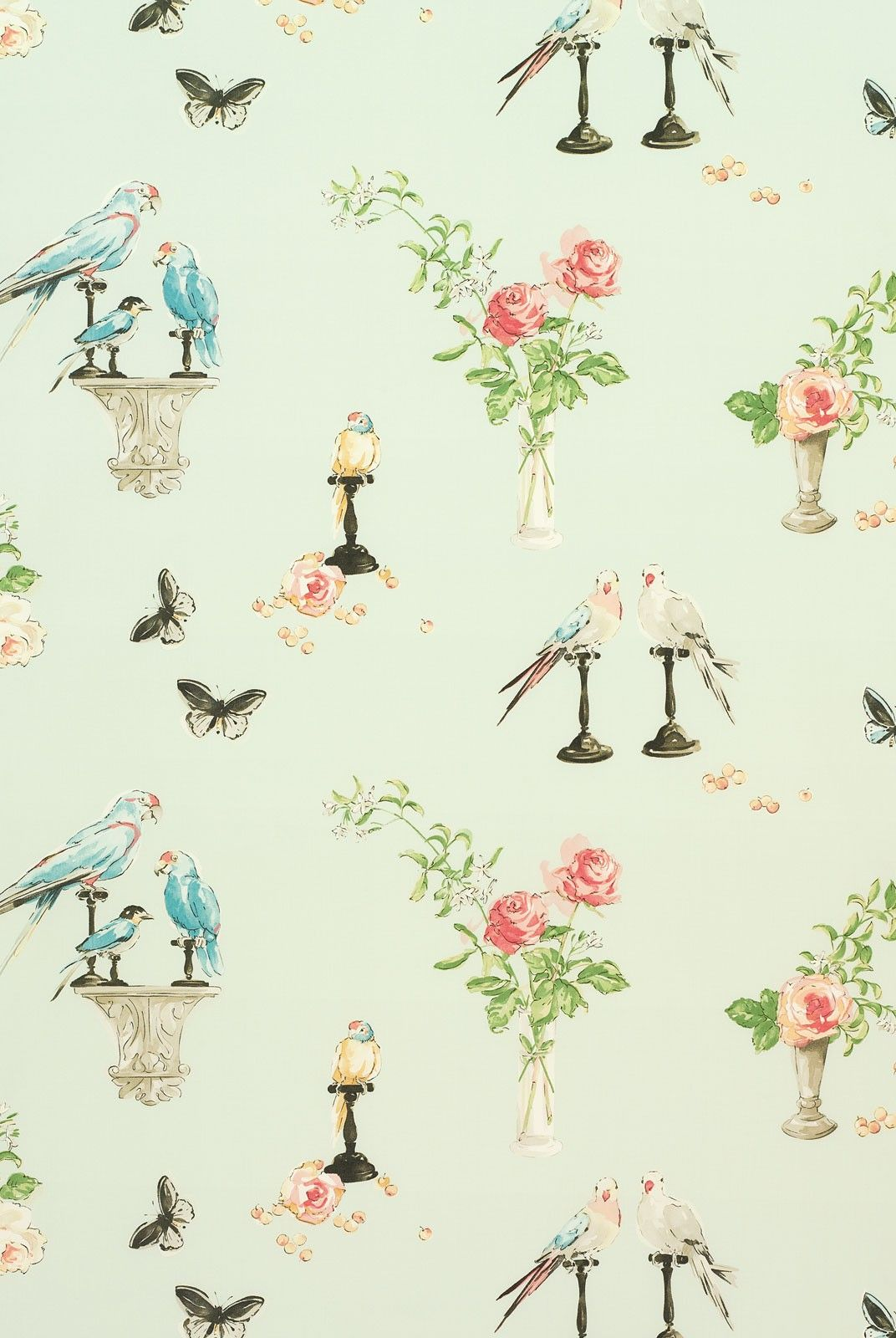 love this nina campbell fabric Nina campbell wallpaper