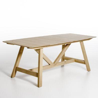 Table extensible Buondi, design Emmanuel Gallina , dessus bois, Am