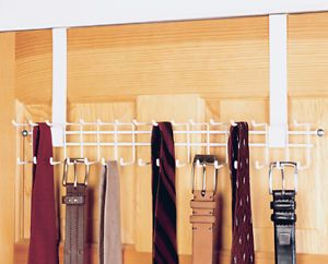 Attractive Tie Racks Diy | ClosetMaid Over The Door Tie U0026 Belt Rack   1217 | EBay