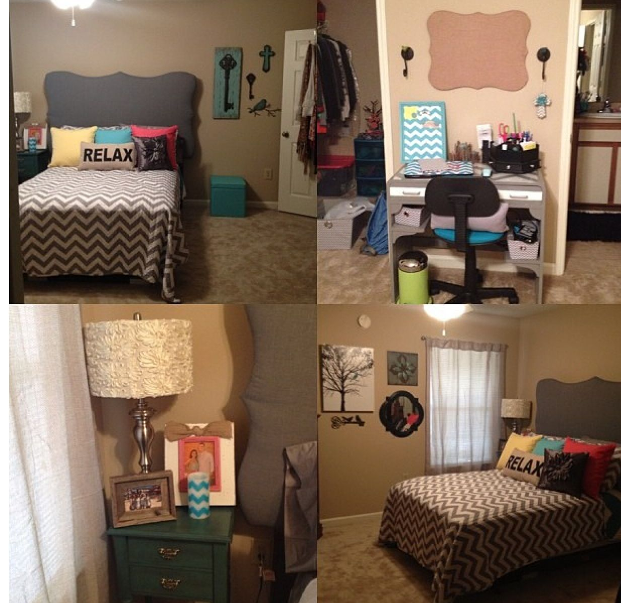 Super cute College Spaces (Girly) College apartments