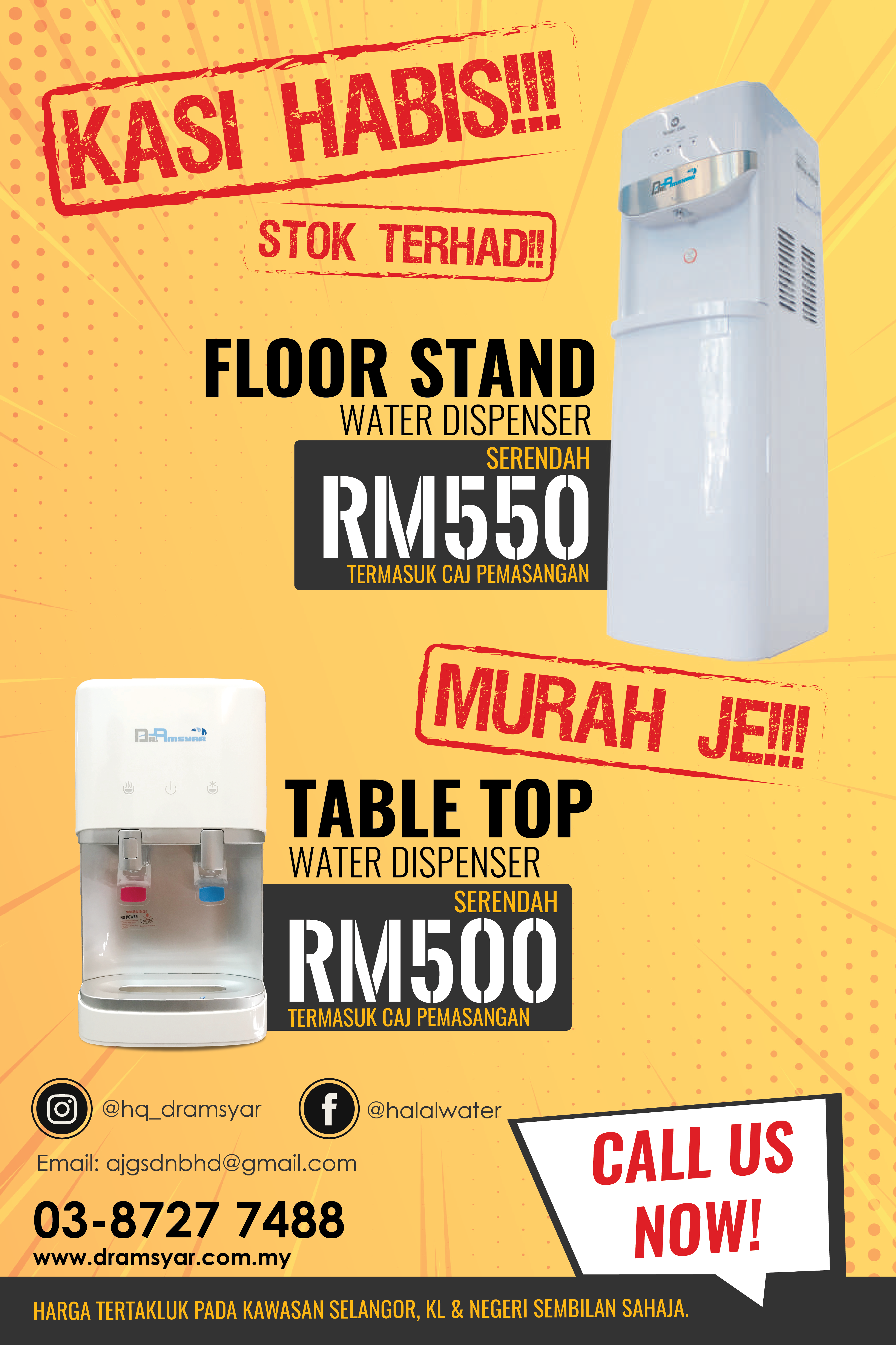 WOW!!! Believe it OR not?! Our water dispenser NOW ON SALE