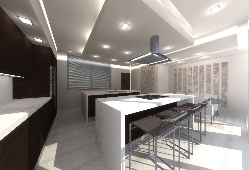 Decoracion de comedor cocina loft estilo contemporaneo Estilo contemporaneo arquitectura