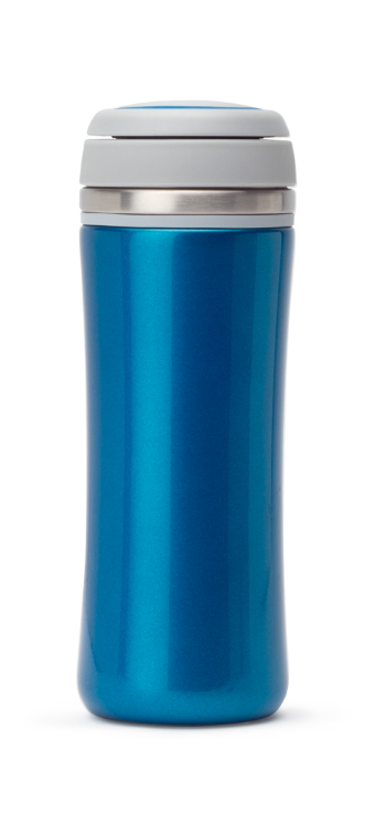 Summit Leakproof Insulated Thermal Travel Coffee Mug Cup Flask Blue