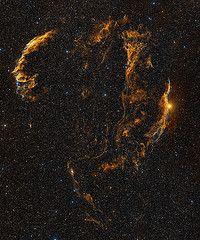 Veil Nebula DSS2 WikiSky  from keeperlink