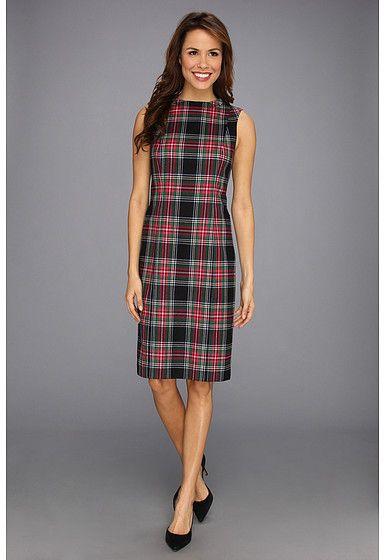 98a63b4067 Pendleton Worsted Wool Flannel Simone Sheath Dress on shopstyle.com ...