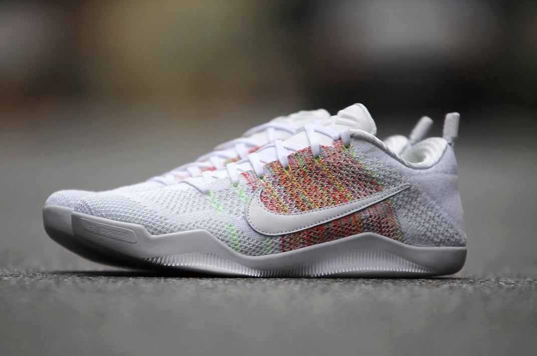 the best attitude 58329 5e9c5 The Nike Kobe 11 White Horse released today and can be purchased at select  Nike retailers for  220.