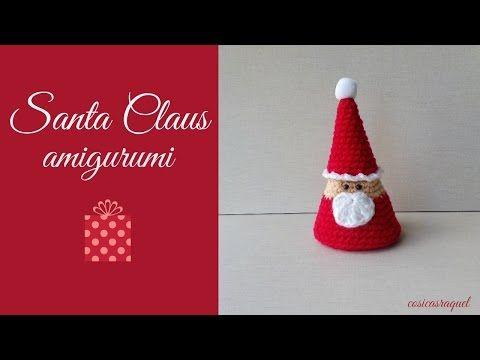 Tutorial De Amigurumis Navideños : Gnomo navideÑo amigurumi tutorial youtube otras cositas