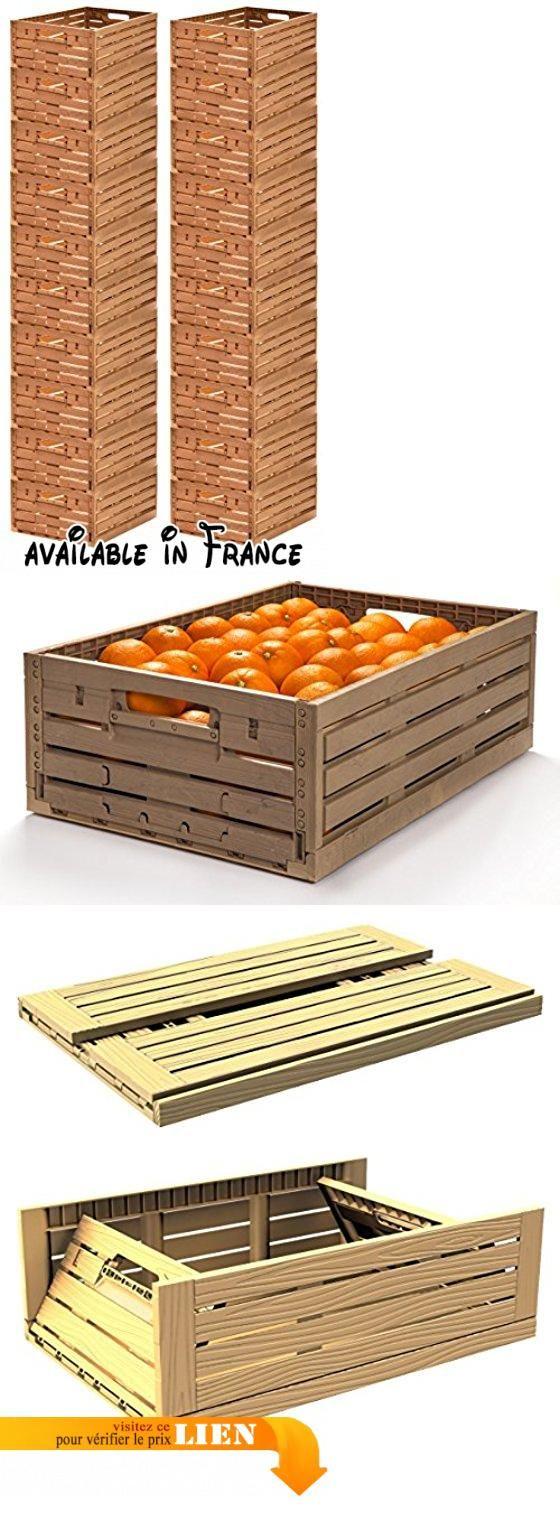 Prix Caisse A Pomme lot de 20 à fruits boîte à rangement en bois design pomme