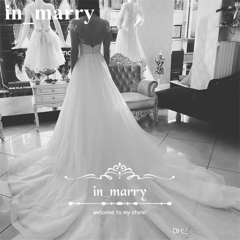 Gorgeous Overskirts Mermaid Plus Size Wedding Dresses 2017 Illusion Cap Sleeves Vintage Lace Country Beach Cheap Bridal Gowns Chapel Train 2017 Wedding Dresses Plus Size Wedding Dresses Arabic Wedding Dresses Online with $268.58/Piece on In_marry's Store | DHgate.com
