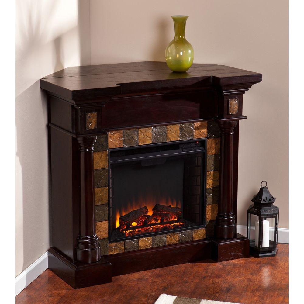 Freestanding Indoor Electric Fireplace Remote Controlled Heater Timer Espresso Harperblvd Indoor Electric Fireplace Fireplace Electric Fireplace