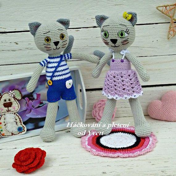 PATTERN Cat Lady crochet pattern amigurumi por CrochetfromYvett ...