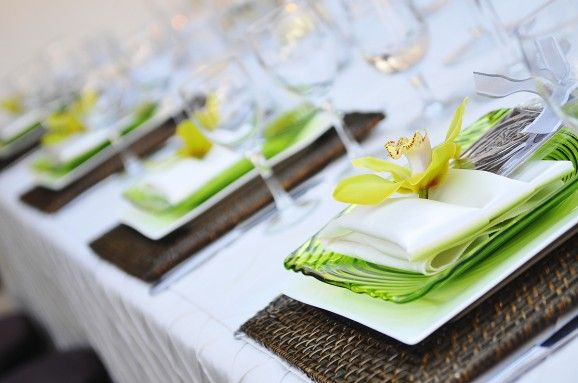 Napkin Folding Ideas For Lds Wedding Receptions Photo By Carly
